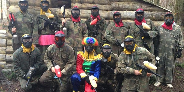 stag party paintball venue